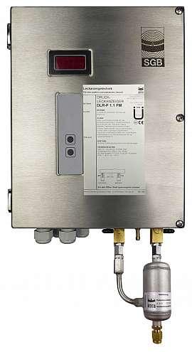 Leak Detector DLR-P 1.1 PM, pul-d, 100-240VAC|24VDC, ss-box, CF8/6
