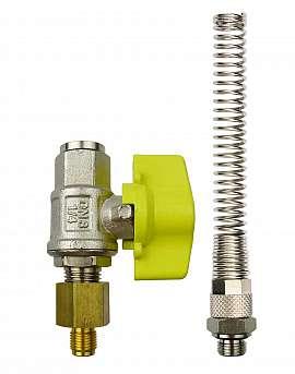 Installation kit pipe, brass, G1/8'm - QU8/6