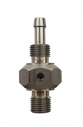 Hose Nozzle S4/6 1/8' both ends Stainless Steel