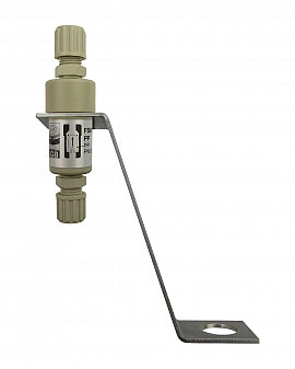 Liquid stop valve FSKS 1, PP8/6, PN6, PP,PP, dome plate holder
