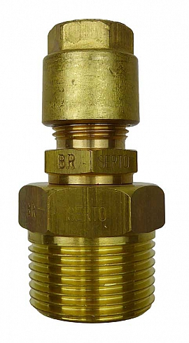 Inst. kit DL.., R3/4'm - CF10/8, CU-pipe 10/8x1mm