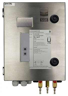 Leak detector VL 34 P, 230VAC, ss-box, H4+H6