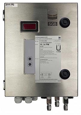 Leak Detector VL 34 PM, ss-v, 100-240VAC|24VDC, ss-box, ss-CF8/6