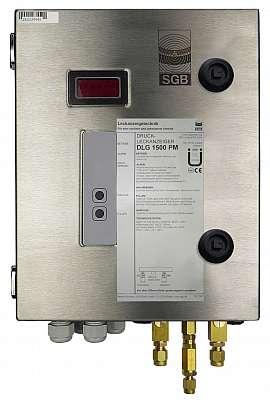 Leak Detector DLG 1500 PM, 100-240VAC|24VDC, ss-box, CF8/6