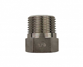 reduction fitting R3/8''a - G1/8''i stainless steel