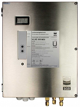 Leak Detector VLXE 500 MSi, 100-240VAC|24VDC, ss-box, CF8/6