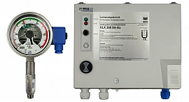 Leak Detector VLX 350 SA-Ex, 230VAC, Leak indicating unit LED + Leak Detector