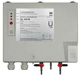 Leak Detector DL 330 8S, 230VAC, pl-box, H4+H6