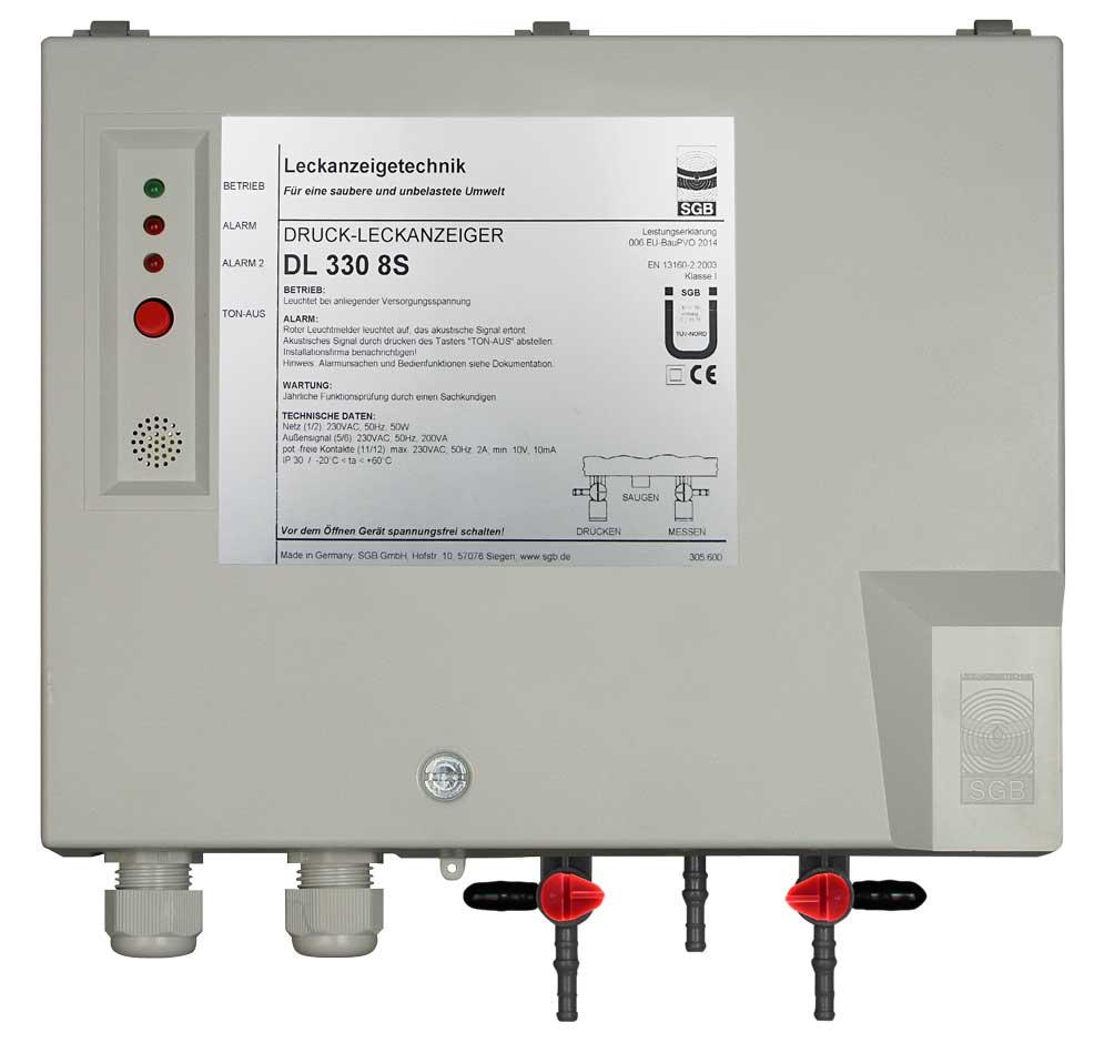 Leckanzeiger DL 330 8S, 230VAC, Kst-Geh, S4+S6