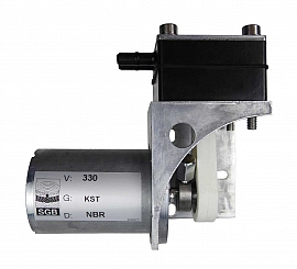 Overpressure Pump 24 V DC 85@330; plastic; NBR