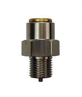 Overpressure Valve, Brass, NBR, G1/8' 2700mbar Open. Pressure (DL2000)