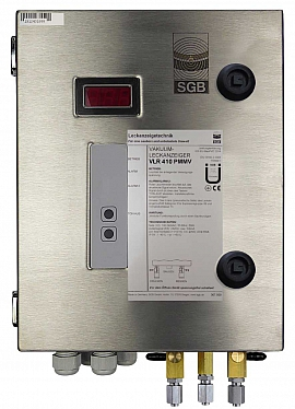 Leak Detector VLR 410 PMMV, 100-240VAC|24VDC, ss-box, FU6/4