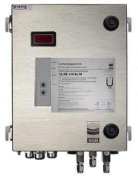 Leak Detector VLXE 410 Ex M, ss-v, 100-240VAC|24VDC, ss-box, ss-CF8/6
