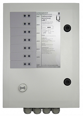 Leak indicating unit LAE-7, 100-240VAC/24VDC, IP30