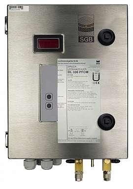 Leak Detector DL 330 PFCM, 100-240VAC 24VDC, ss-box, QU8/6