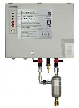 Leak Detector DLR-P 1.1 FC, pul-d, 100-240VAC|24VDC, pl-box, CF8/6