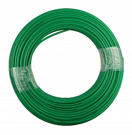 PA-hose, green, 8/6x1mm, 100m roll Pmax at 60°C = 12 bar