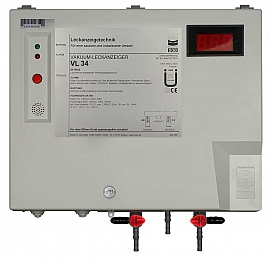 Leak detector VL 34 M, 230VAC, pl-box, S4+S6