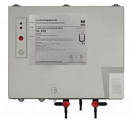 Leak Detector VL 570, 230VAC, pl-box, hose with 4 or 6 mm i.d.