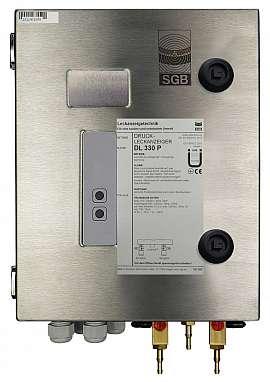 Leak detector DL 330 P, 230VAC, ss-box, H4+H6