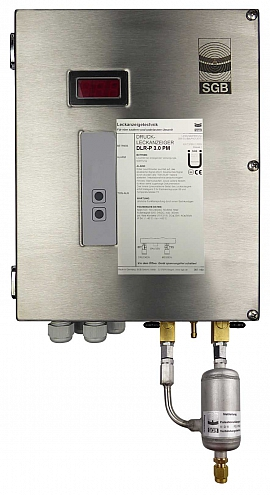 Leak Detector DLR-P 3.0 PM, pul-d, 100-240VAC|24VDC, ss-box, CF8/6