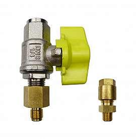 Installation kit pipe, brass, R1/8''m - CF8/6