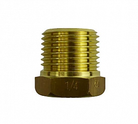 Reduction Fitting R1/2' - G1/4' R1/2'male-G1/4'female, Brass