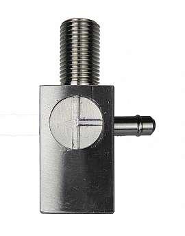 ss-3-way valve, ss cock pl./con.piec. r. G1/8'f, M10x1m