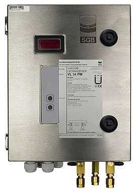 Leak Detector VL 34 PM, 100-240VAC|24VDC, ss-box, CF8/6